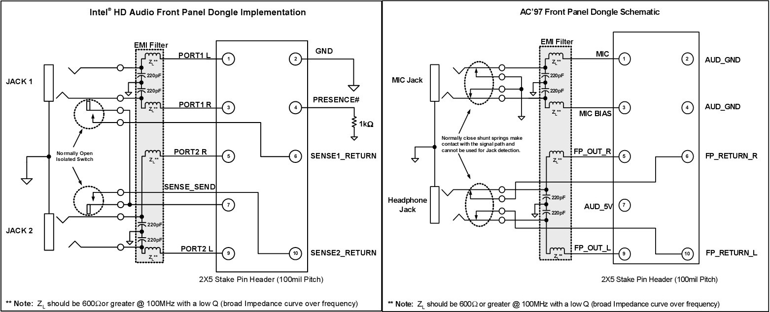 A11eb Front Panel Audio Wiring Diagram